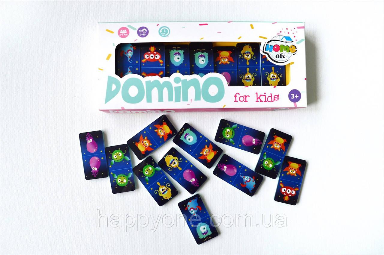 Детское Domino Funny Monsters