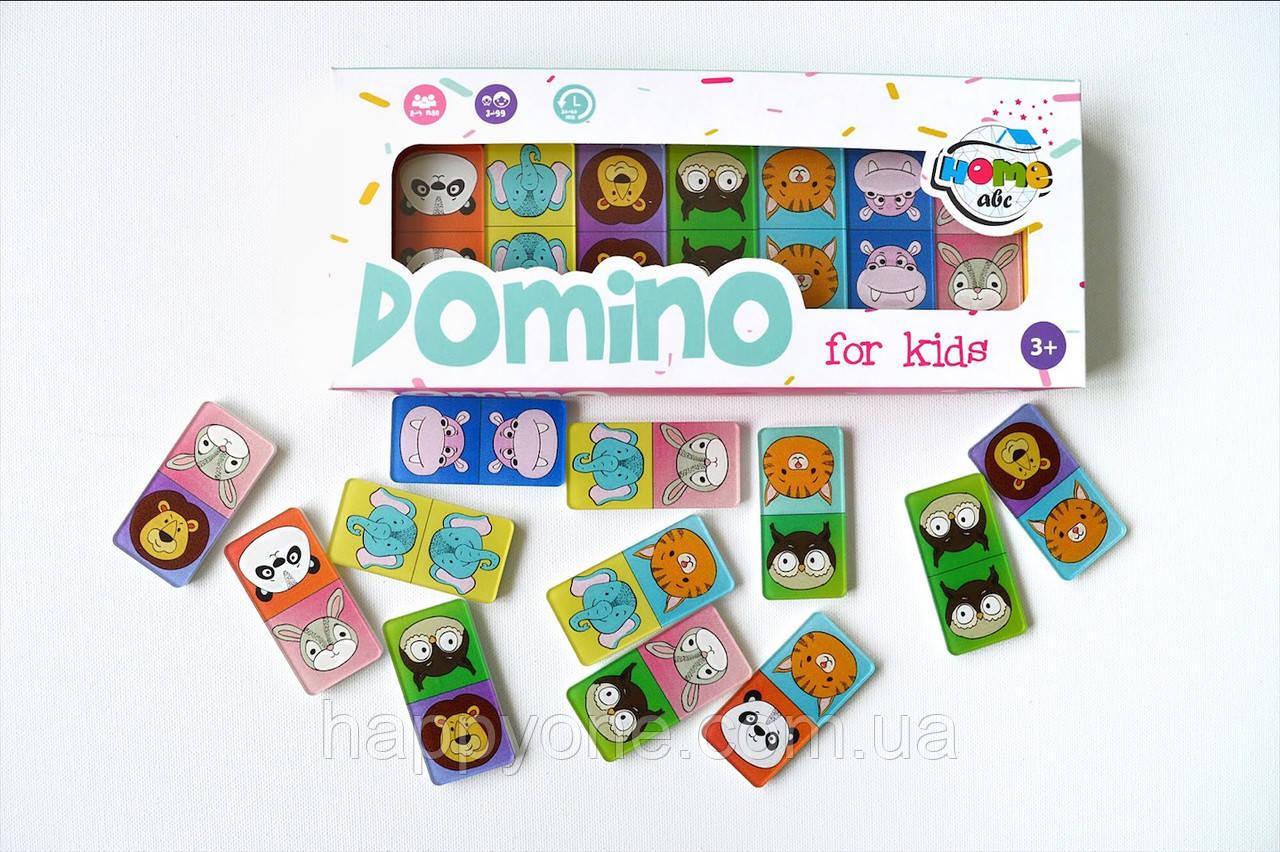 Детское Domino Animals color set