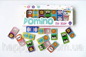 Дитяче Доміно Animals color set