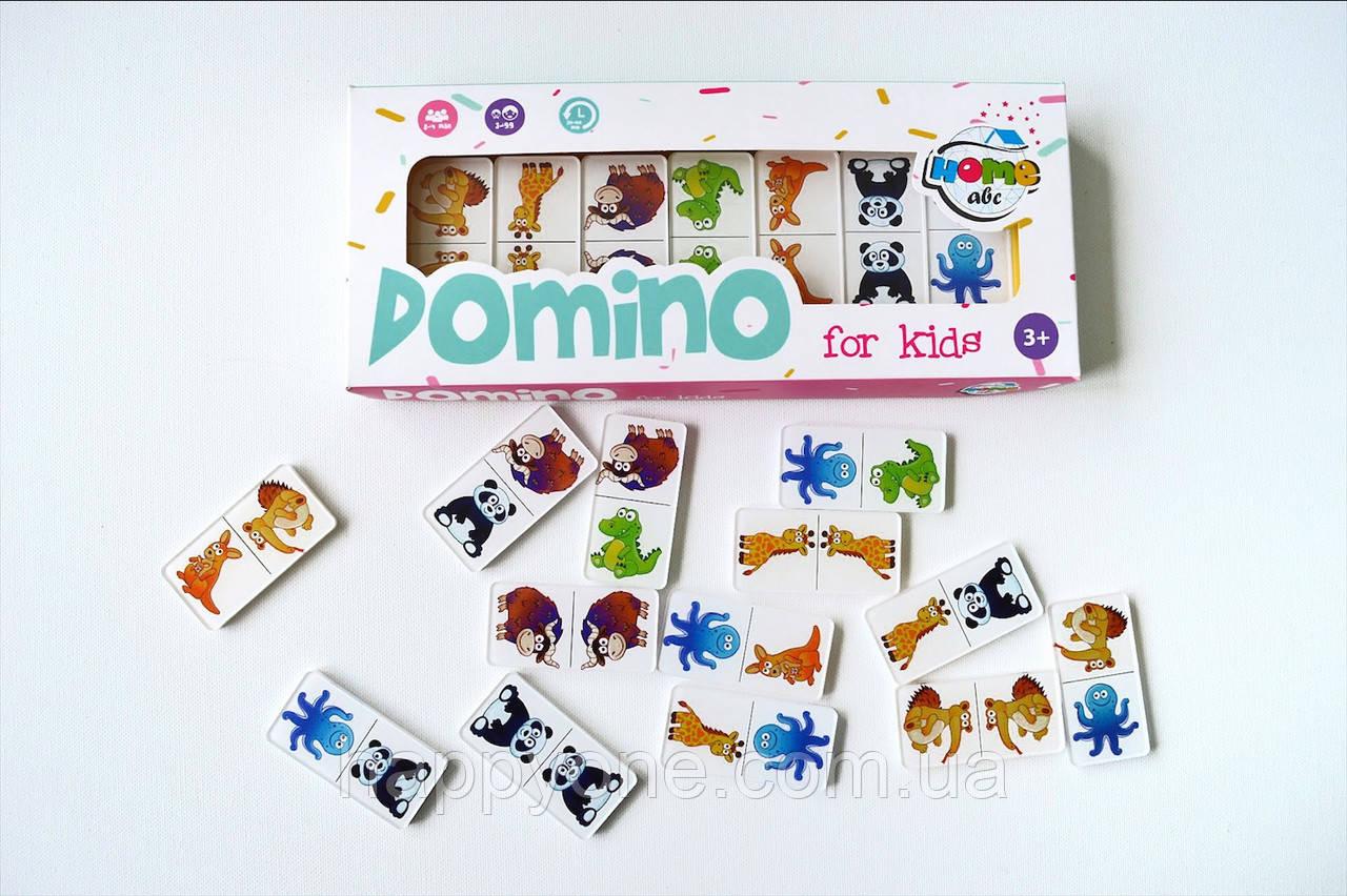 Детское Domino Animals white set