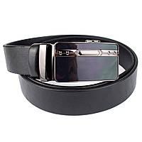 Ремень мужской кожаный KB-35-04 black (3,5 см), фото 1