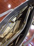 Сумка Майкл Корс Jet Set Travel шкіра, колір сірий, фото 6