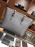 Сумка Майкл Корс Jet Set Travel шкіра, колір сірий, фото 8
