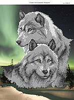 Схема для вышивки бисером Вовки (Північне сяйво). СКВ-2(3) c6488d7043c0b