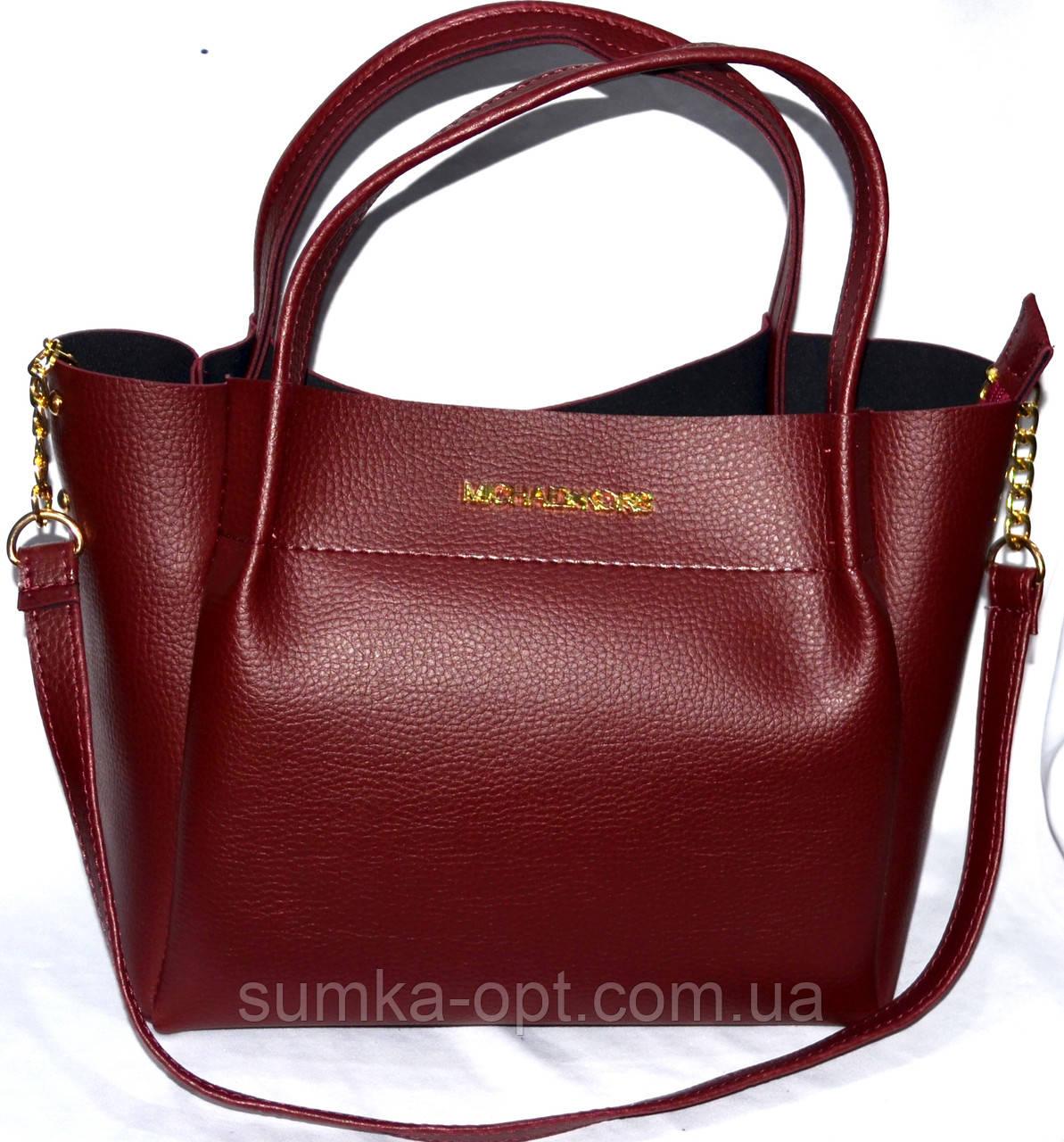 Женские брендовые сумки Michel Kors (бордо)25 27см  продажа, цена в ... 7f0d8167776