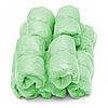 Бахилы, одноразовые, медицинские 3 гр 100 шт/ 50 пар, из полиэтилена, зеленые