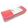 Полоски для депиляции, Panni Mlada 100 шт в упаковке, нетканые - спанбонд, красные