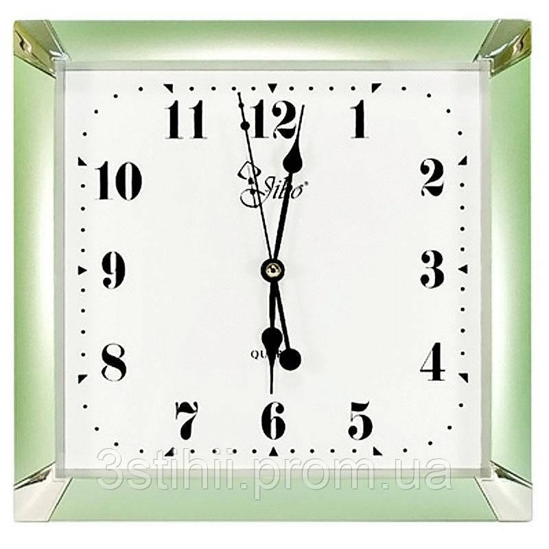 Часы настенные Jibo ME000-1700-2 Зеленые