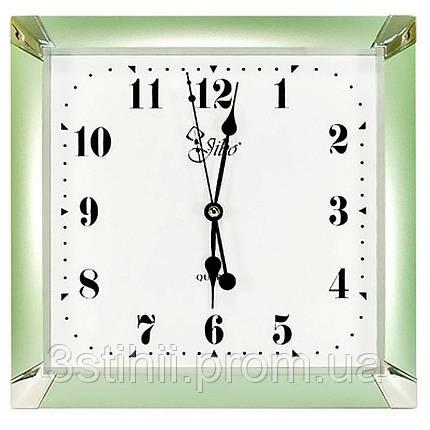 Часы настенные Jibo ME000-1700-2 Зеленые, фото 2