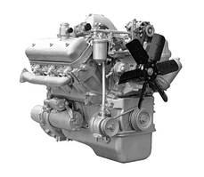 Двигатель ЯМЗ 236М2-4 (УРАЛ, дрезины АГМС, фронт. погрузчик) в сб. без КПП и сцепл. (пр-во ЯМЗ)