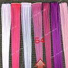 УЦЕНКА!! Цветные пряди на заколках малиновые, фото 6