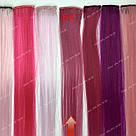 УЦЕНКА!! Цветные пряди на заколках малиновые, фото 7