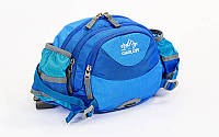 Сумка поясная WAIST BAG COLOR LIFE TY-5335 (синий)