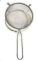 Сито кухонное с ручкой нержавеющая сталь Super 18 см