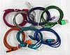 Кабель MicroUSB (Метал/тканина) 2A CK (різні кольори)