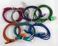 Кабель MicroUSB (Металл/ткань) 2A CK (разные цвета)
