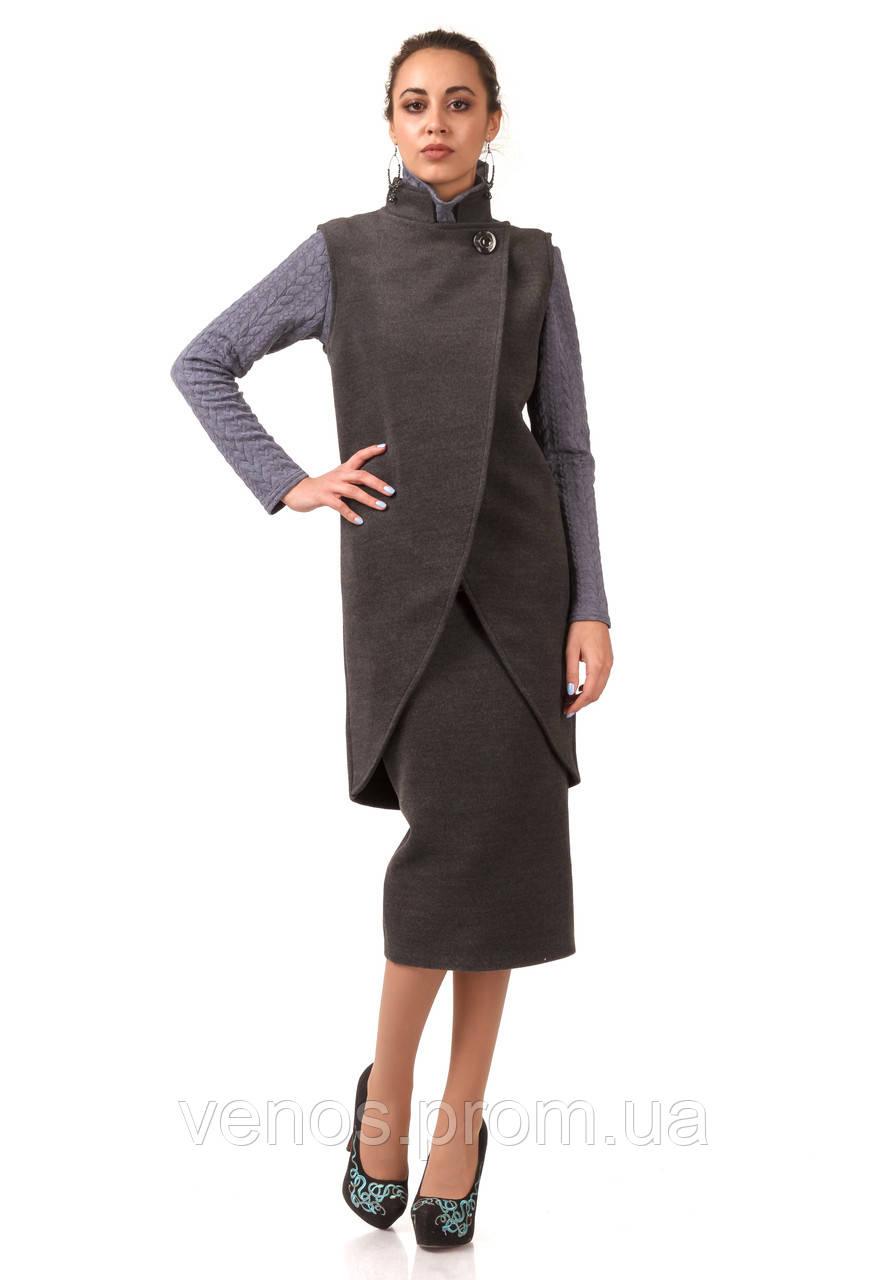 Модный женский кашемировый жилет. Ж001