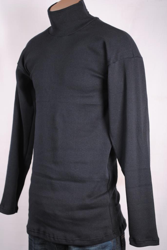 Гольф -свитер зимний мужской темно -синий ,новинка на флисе