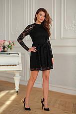 Женское гипюровое платье №419, фото 3