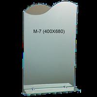Зеркало фигурное маленькое М-07, фото 1