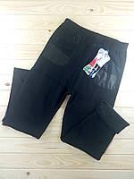 Тёплые брюки с карманами плотный мех 1 шов Ласточка  чёрные  6-8XL размер  ЛЖЗ-12299