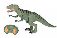 Динозавр Same Toy Dinosaur Planet зеленый со светом звуком (RS6126AUt), фото 1