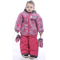 Термо Комплект куртка и полукомбинезон для девочки Perlim Pinpin.  арт .VH233A 12 мес. - 3 года