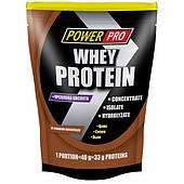 Протеин Power Pro Whey Protein со вкусом шоколада (1000 г).