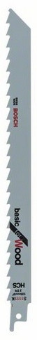 Полотно ножівочне S 1111 K BOSCH (5шт)