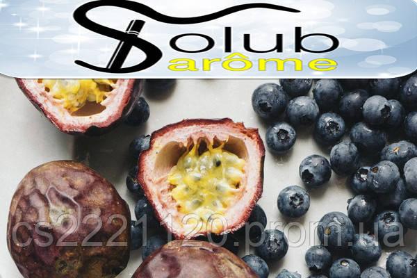 Ароматизатор Solubarome Berry passion (маракуйя, черника) 5 мл.
