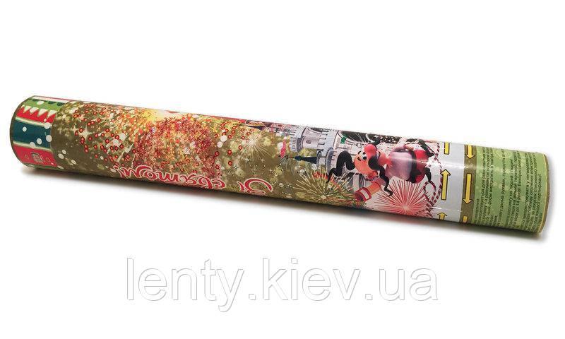 Хлопушка пневматическая Праздничная Украинская стилистика, 30см