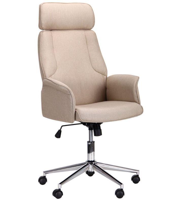 Кресло Madison хром/песочный