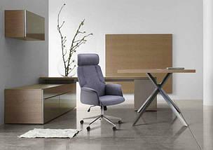 Кресло Madison хром/песочный, фото 3