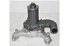 Насос водяний (помпа) ЗІЛ-130 130-1307010-Б4 з алюмінієвим корпусом без шківа, фото 2