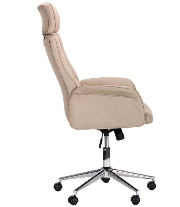 Кресло Madison хром/песочный (фото 2)