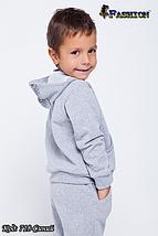 Дитячий спортивний костюм з вишивкою хлопчику Юний модник, р. 28,30, фото 3