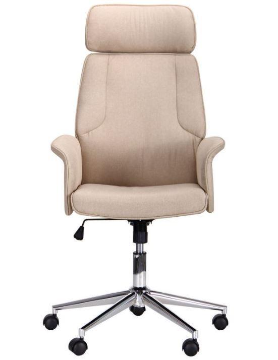 Кресло Madison хром/песочный (фото 3)