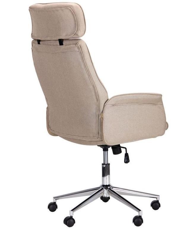 Кресло Madison хром/песочный (фото 4)