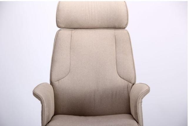 Кресло Madison хром/песочный (фото 5)