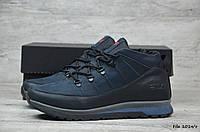 Мужские кожаные зимние ботинки Fila  (Реплика), фото 1