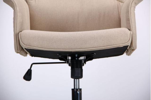 Кресло Madison хром/песочный (фото 6)