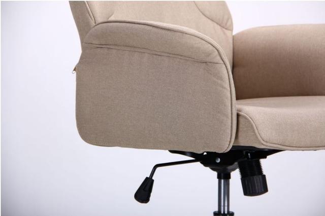 Кресло Madison хром/песочный (фото 7)