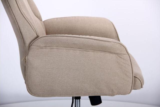 Кресло Madison хром/песочный (фото 8)