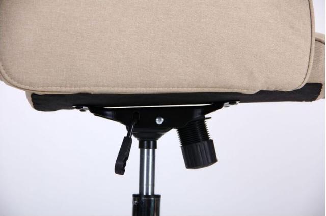 Кресло Madison хром/песочный (фото 10)