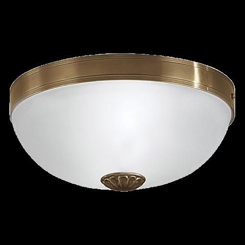 Потолочный светильник 82741 EGLO Imperial 2х60Вт бронза/мат.-белый
