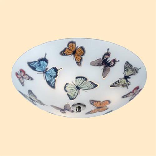 Светильник потолочный Markslojd Butterfly 105433 3х40Вт E14 цветной/металл