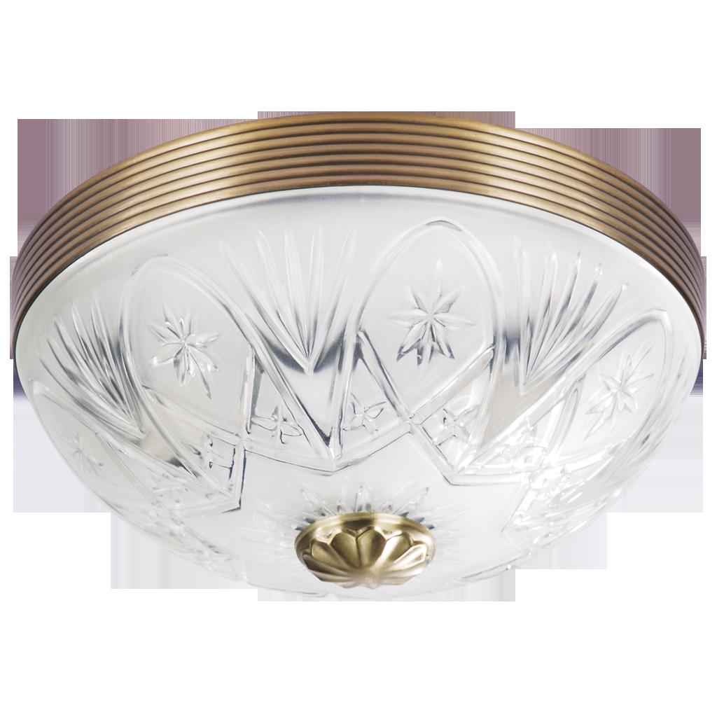 Потолочный светильник Rabalux Annabella 8638 2х60Вт Е27 бронза/металл