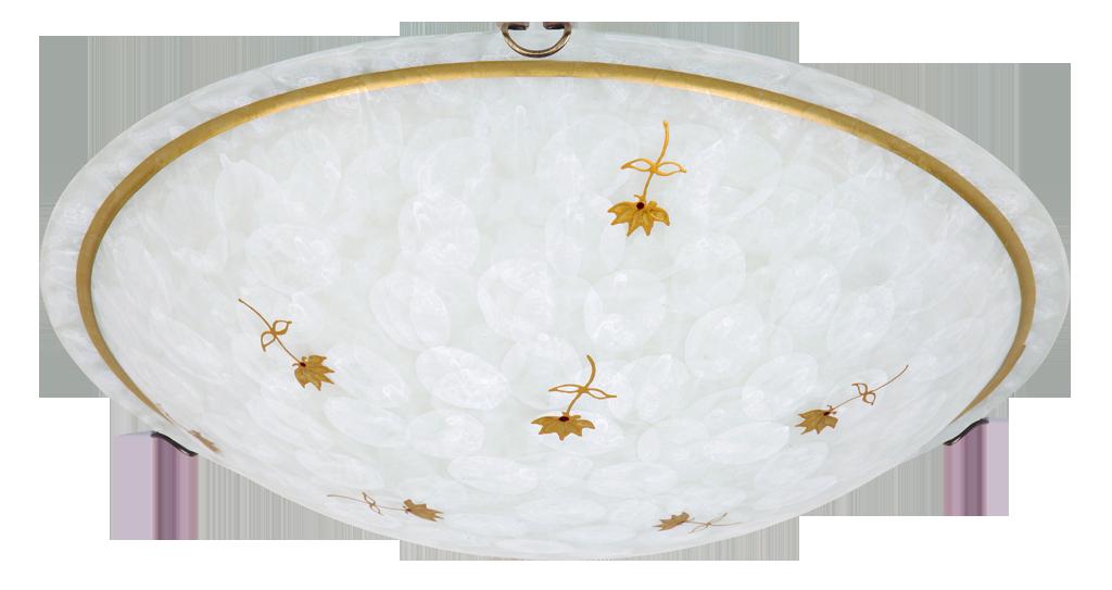 Потолочный светильник Rabalux Art flower 1952 1х60Вт E27 бронза/металл