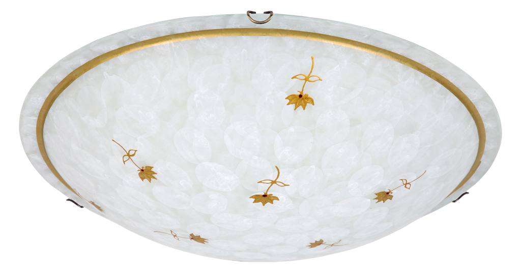 Потолочный светильник Rabalux Art flower 1953 2х60Вт E27 бронза/металл