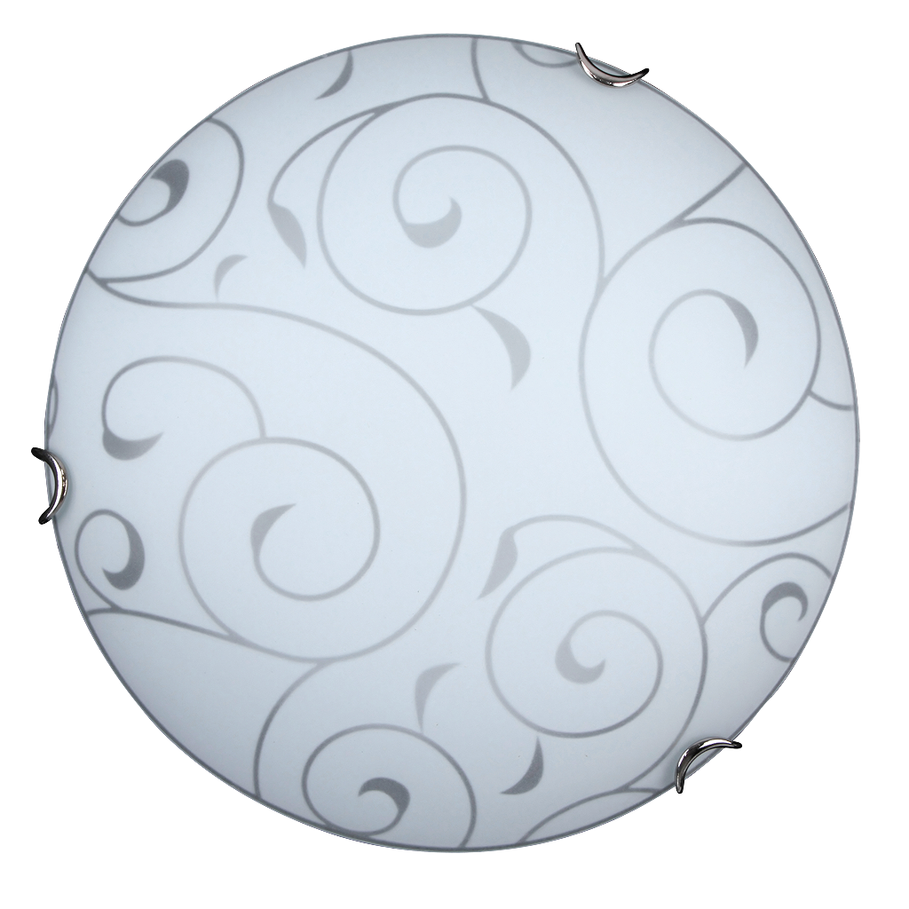Потолочный светильник Rabalux Harmony lux 3852 1х60Вт Е27 серебро/металл